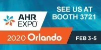 Visit Us at AHR Expo 2020 in Orlando Feb 3-5 in Booth 3721