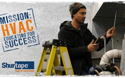 Shurtape Sticks it to the Skilled Trades Gap with Year 5 of Mission: HVAC