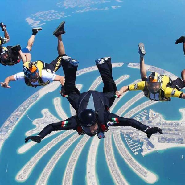 Tandem Skydiving Dubai 5