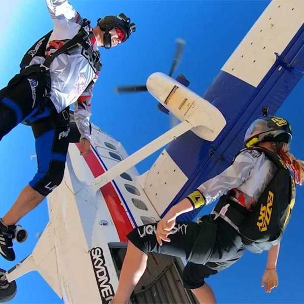 Tandem Skydiving Dubai 7