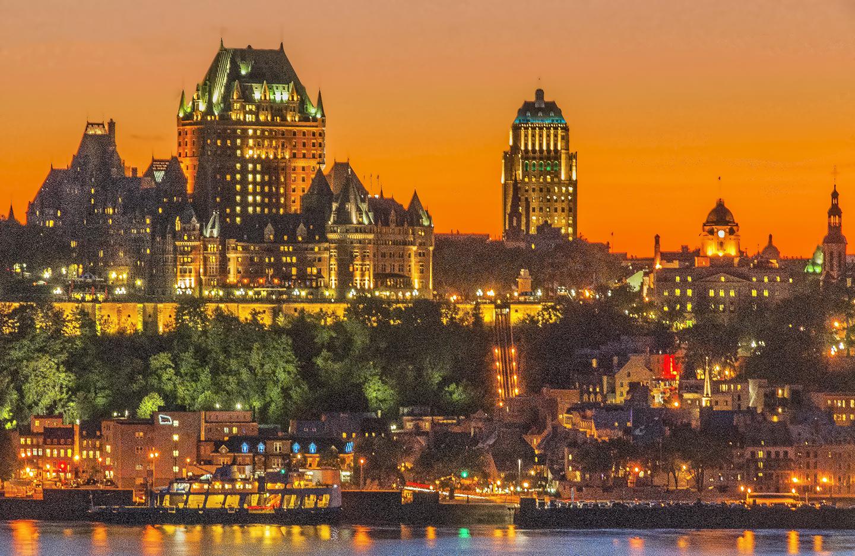 Quebec City Skyline Shutterbug
