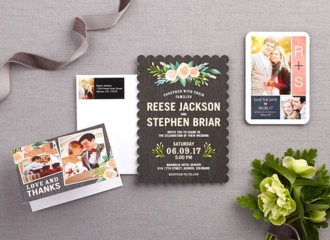 Wedding Invitation Wording Couple Hosting Mixed With Fetching Accessories And Design 6