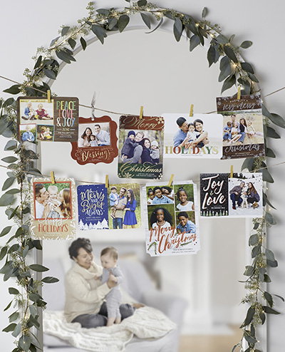 18 Ways To Display Christmas Cards In 2018 Shutterfly
