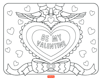 15 Valentine S Day Coloring Pages For Kids Shutterfly