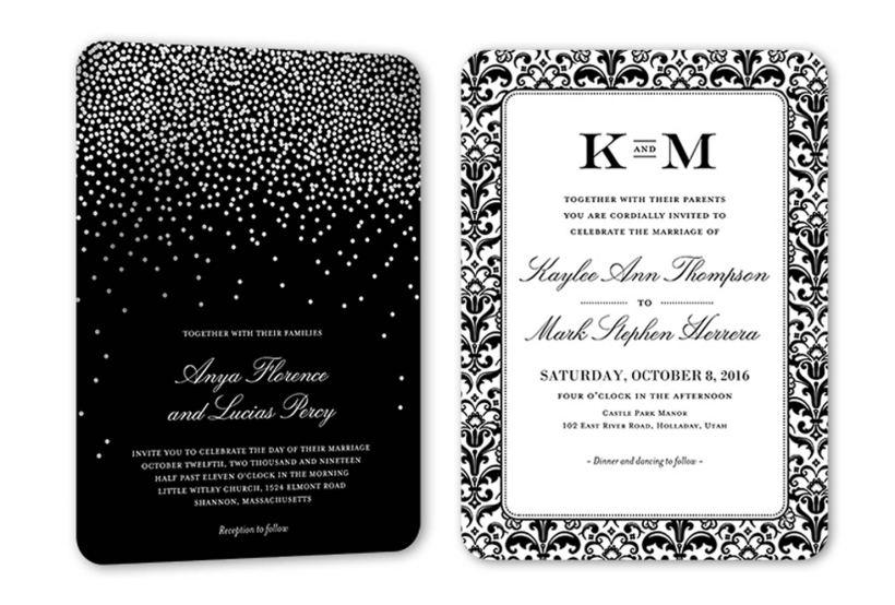 Formal Wedding Invitation Wording Example