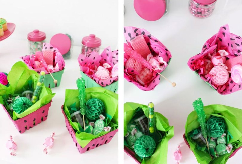 watermelon favor box
