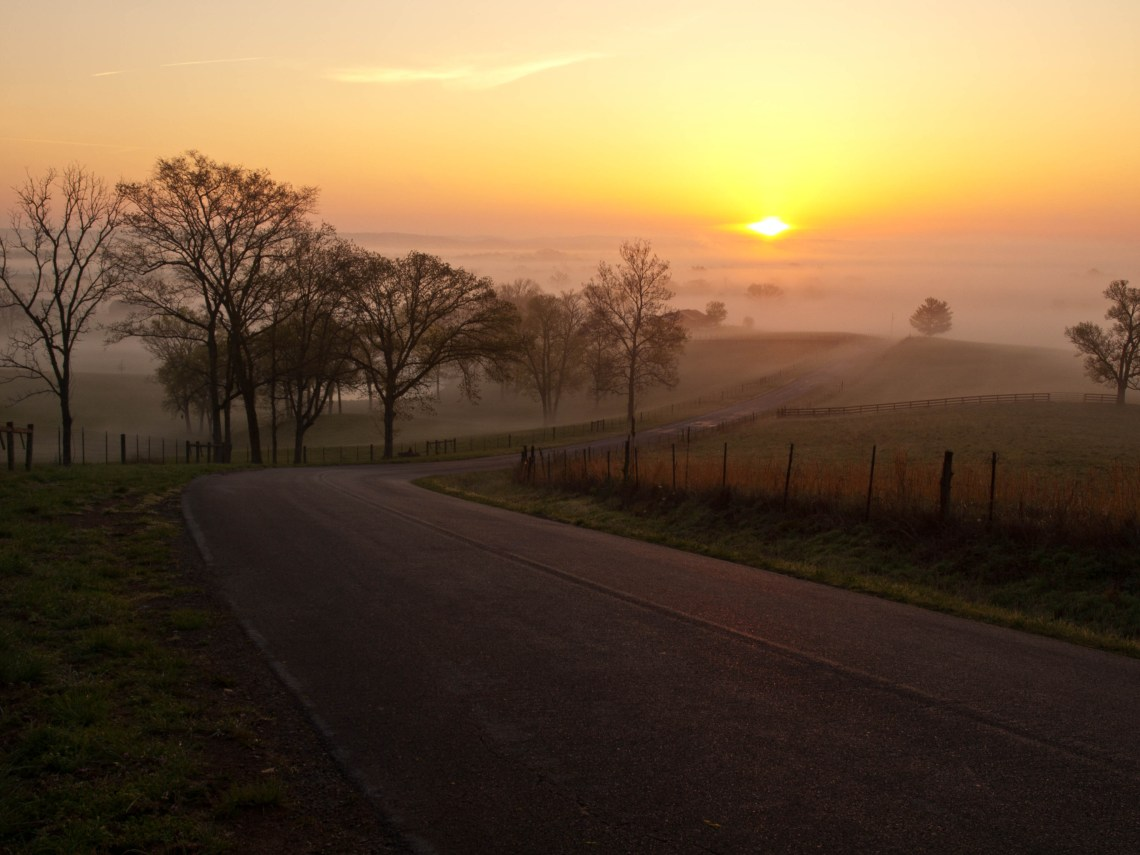 Sunrise Over Spring Hill, Tennessee