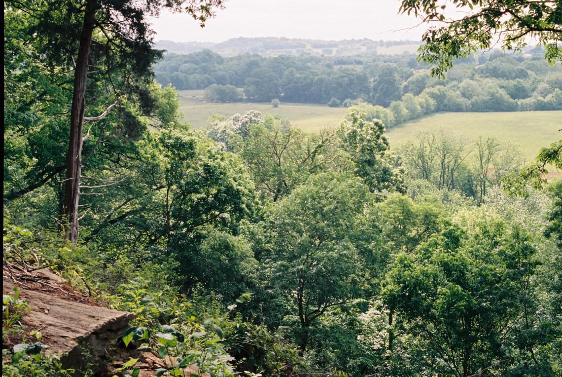 Jackson Falls - Natchez Trace Parkway, Tennessee - Olympus OM1 /50mm f1.8 / Kodak Portra 400 / The FINDLab