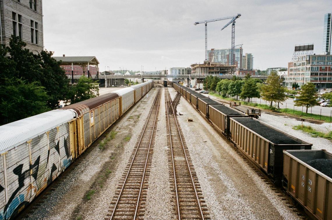 Train Yard at Union Station