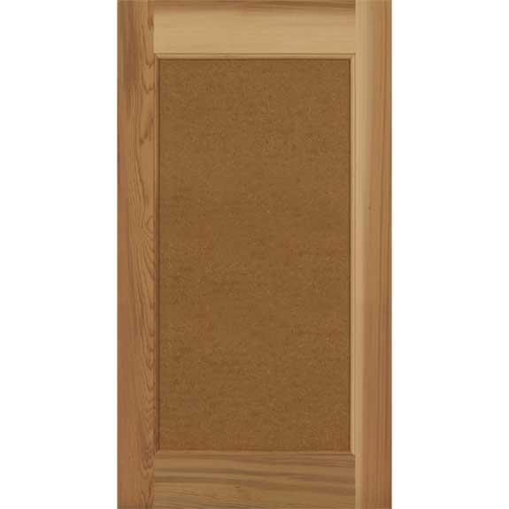 Full flat panel wood shutter ready to paint.
