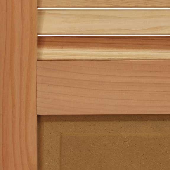 Premium wood hybrid exterior window shutters for outside.