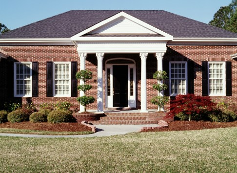 Install Exterior Shutters Brick Hardware Used when Installing