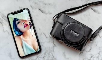 fotoshoot via FaceTime videobellen met de telefoon