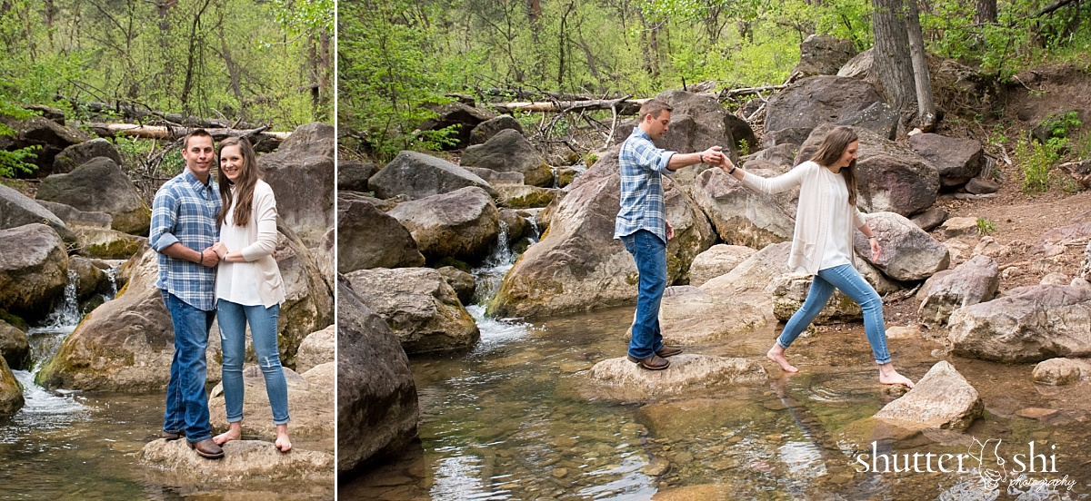 Little Elk Creek Trail Black Hawk South Dakota Engagement Photographer Rapid City Photographer