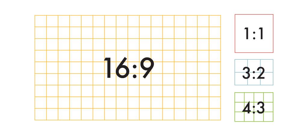 common aspect ratios image sizes