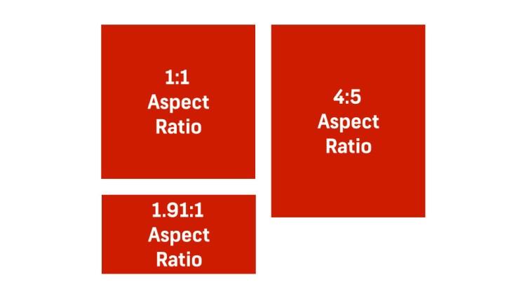Instagram aspect ratios