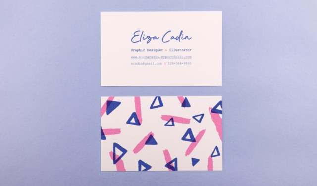 9 Fresh Ideas for Designing Creative Business Cards — Risograph Texture
