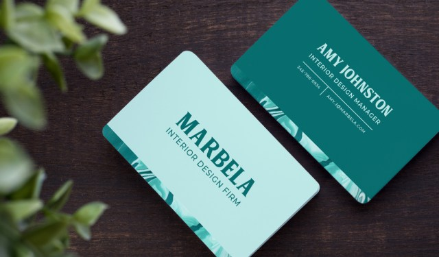 9 Fresh Ideas for Designing Creative Business Cards — Marble Accent