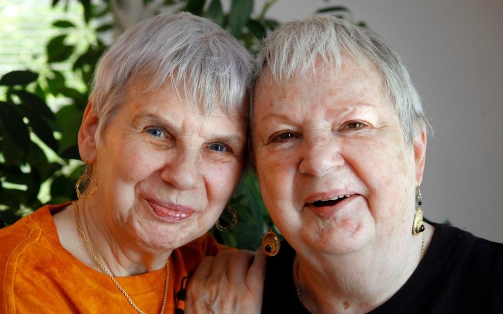 A Retrospective of LGBTQ Filmmaker and Activist Lilli Vincenz's Work - Lilli Vincenz and Life Partner Nancy Ruth Davis