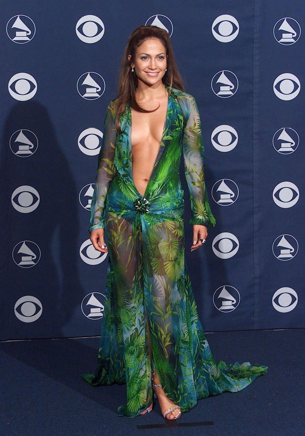 Jennifer Lopez at the Grammys
