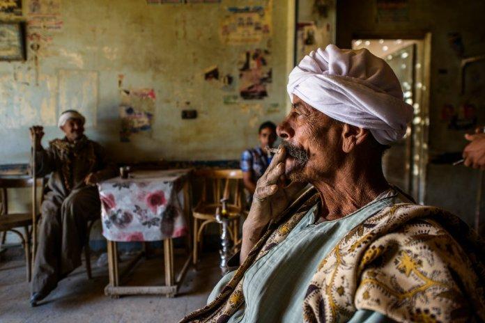 A Tea House in Farafra, Egypt