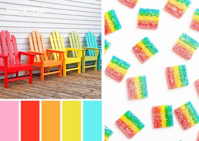 Rainbow Color Palette