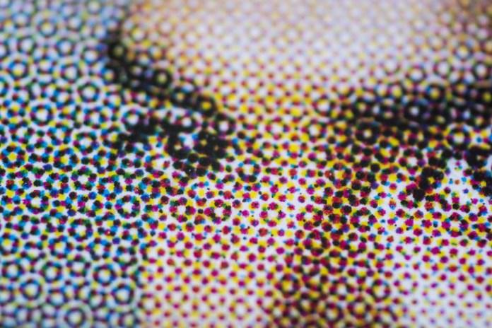 Halftone Ink Dots