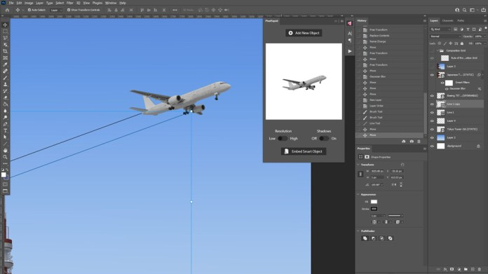 Adding Guide Jet Trails