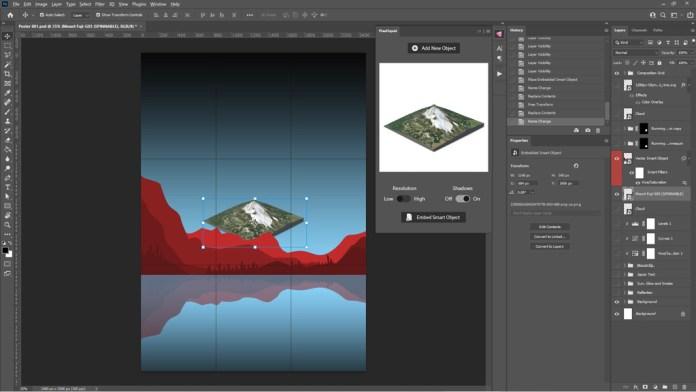 Placing 3D Element