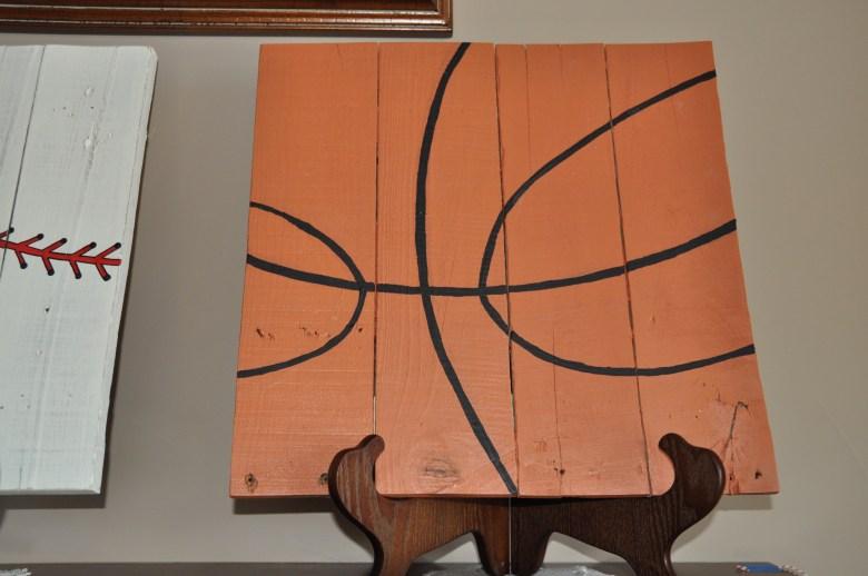 Sports-baby-shower-basketball-wood-art