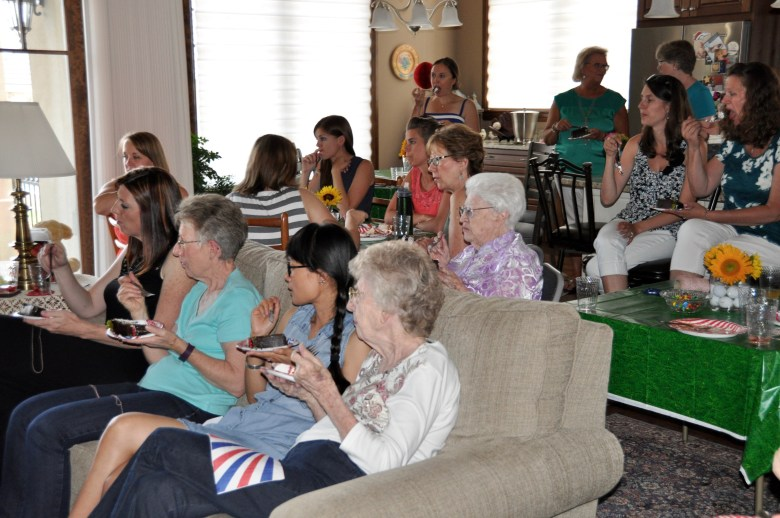 Sports-baby-shower-guests