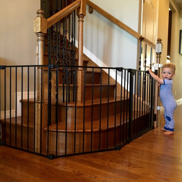baby deedee + Child Safe custom gate