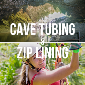 Cave Tubing and Zip Lining at Jaguar Paw