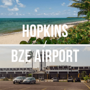 Hopkins / Belize International Airport (BZE) - Private Shuttle