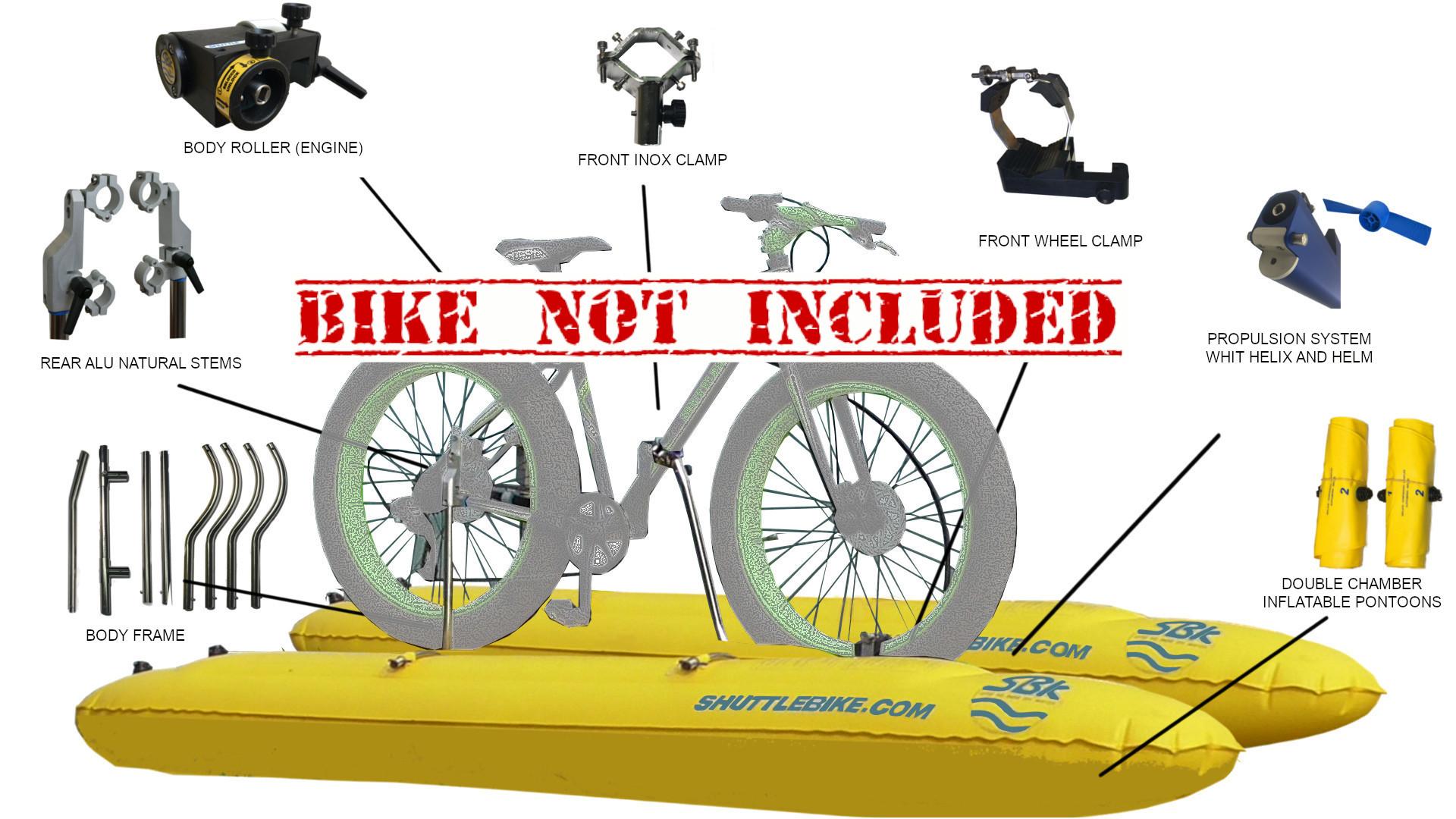 Shuttlebike Evo 2 0 Kit For Fat Bike 26 Shuttle Bike Kit