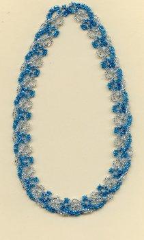 BEANILE Interlaced Necklace.  Teacher:  Mimi Dillman.