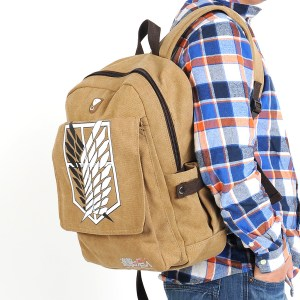 Attack on Titan Backpack Survey Corps Bag Shut Up And Take My Yen : Anime & Gaming Merchandise