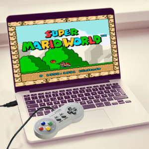 Classic Super Nintendo USB Controller Shut Up And Take My Yen : Anime & Gaming Merchandise