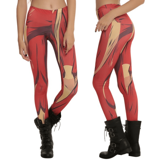 Colossal Titan Leggings Shut Up And Take My Yen : Anime & Gaming Merchandise
