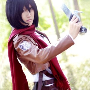 Attack on Titan Mikasa Scarf Shut Up And Take My Yen : Anime & Gaming Merchandise