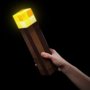 Minecraft Light-Up Torch Shut Up And Take My Yen : Anime & Gaming Merchandise