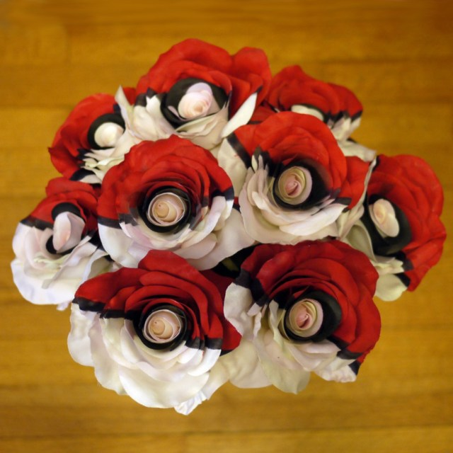 Pokeball Roses Pokemon Flower Shut Up And Take My Yen : Anime & Gaming Merchandise
