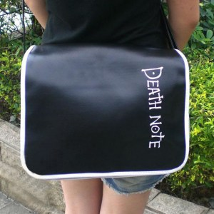 Death Note Messenger Bag Shoulder Bag Shut Up And Take My Yen : Anime & Gaming Merchandise