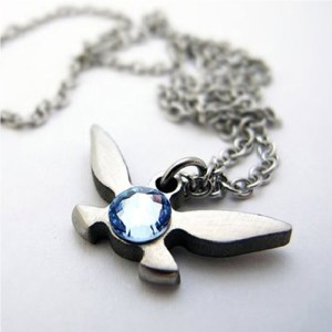 Navi Necklace Legend of Zelda Shut Up And Take My Yen : Anime & Gaming Merchandise