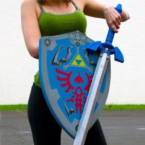 Legend Of Zelda Foam Sword and Shield Set Shut Up And Take My Yen : Anime & Gaming Merchandise