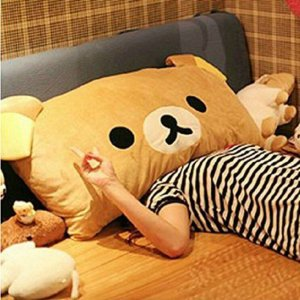 Rilakkuma Pillow Shut Up And Take My Yen : Anime & Gaming Merchandise