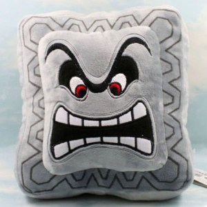 Super Mario Thwomp Pillow