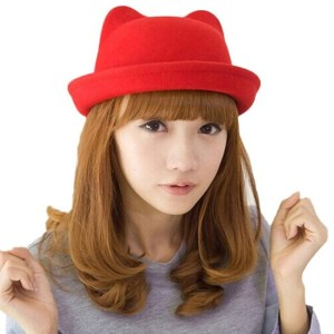 Cat Ear Bowler Hat Shut Up And Take My Yen : Anime & Gaming Merchandise