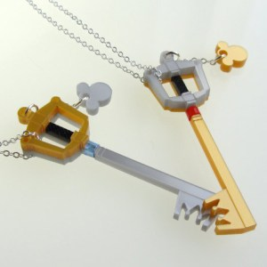 Kingdom Hearts Keyblade Necklace Shut Up And Take My Yen : Anime & Gaming Merchandise