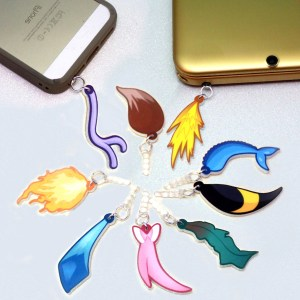 Pokemon Eevee Evolution Tail Charms Pokemon Shut Up And Take My Yen : Anime & Gaming Merchandise